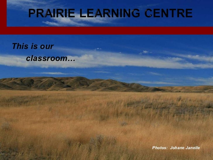 This is our  classroom… Photos:  Johane Janelle