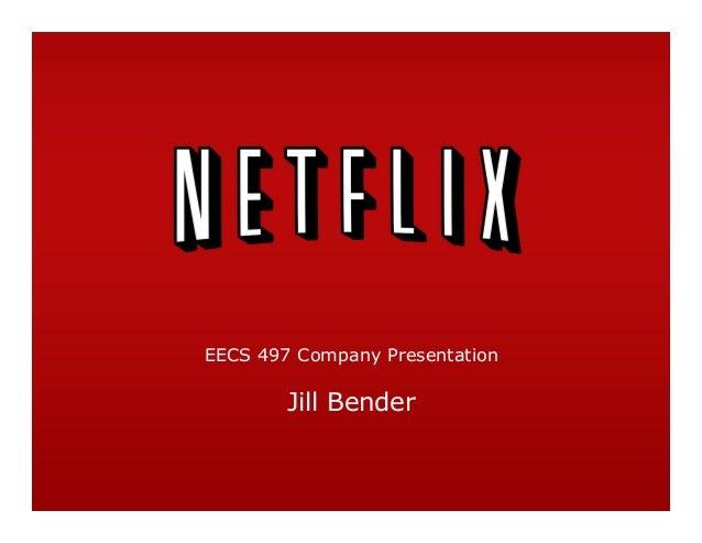 EECS 497 Company Presentation Jill Bender
