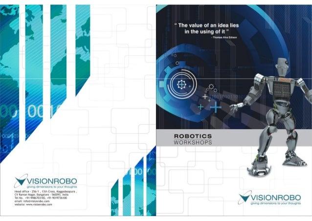 Visionrobo Robotics Workshop Brochure
