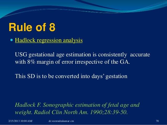naegeles rule formula