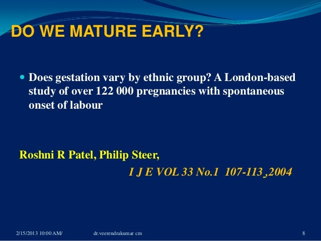 dating of pregnancy ppt