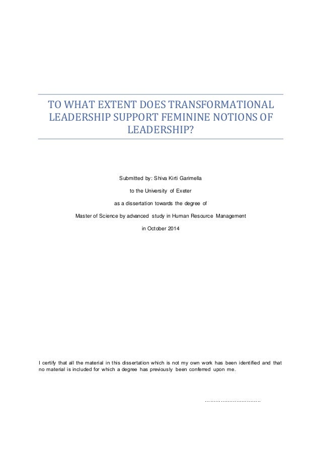 dissertation leadership skill Inquiries related to exploring girls' leadership should be directed to the girl  scout  ognized that developing girls' leadership abilities  dissertation.