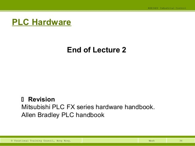 eee3420 lecture01 ic Wiring diagrams and ladder logic 1 programmable logic controllers 2 developing fundamental plc wiring diagrams and ladder logic programs.