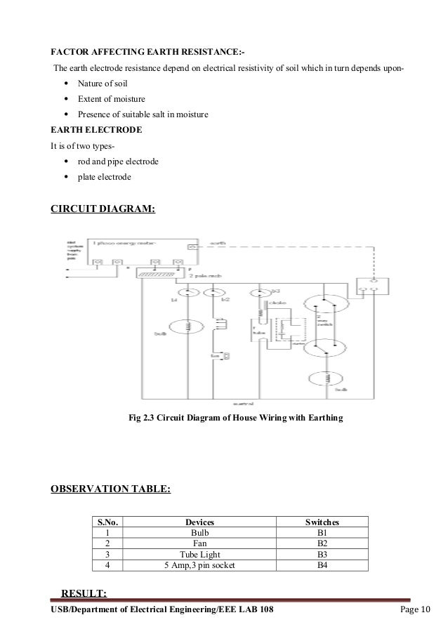 Electrical and electronics lab manual 10 greentooth Image collections