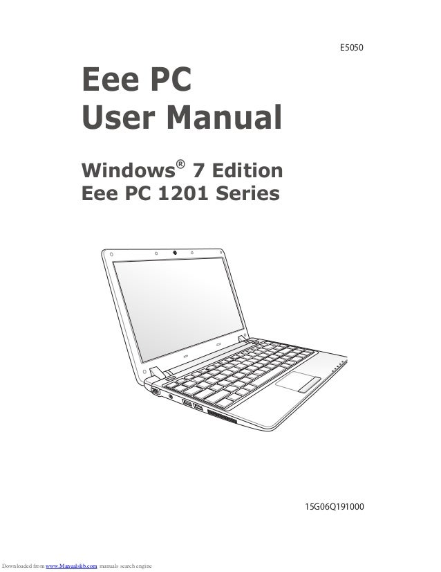 New Driver: Asus Eee PC 1201K Hybrid Engine