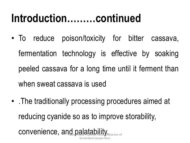 sop cassava processing Priority 1: increasing agricultural production and productivity 26  322  commodity 5: cassava  standard operating procedures spdg.