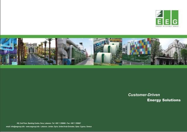 Energy Efficiency Group 100