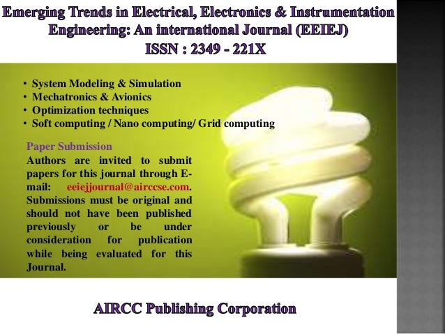 Emerging Trends In Electrical Electronics