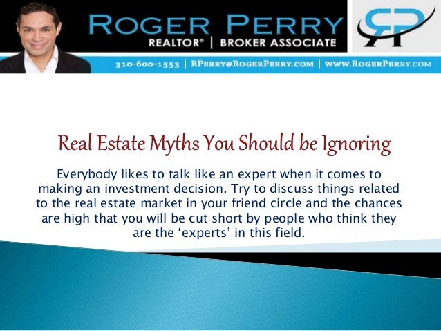 Everybody likes to talk like an expert when it comes to making an investment decision. Try to discuss things related to th...