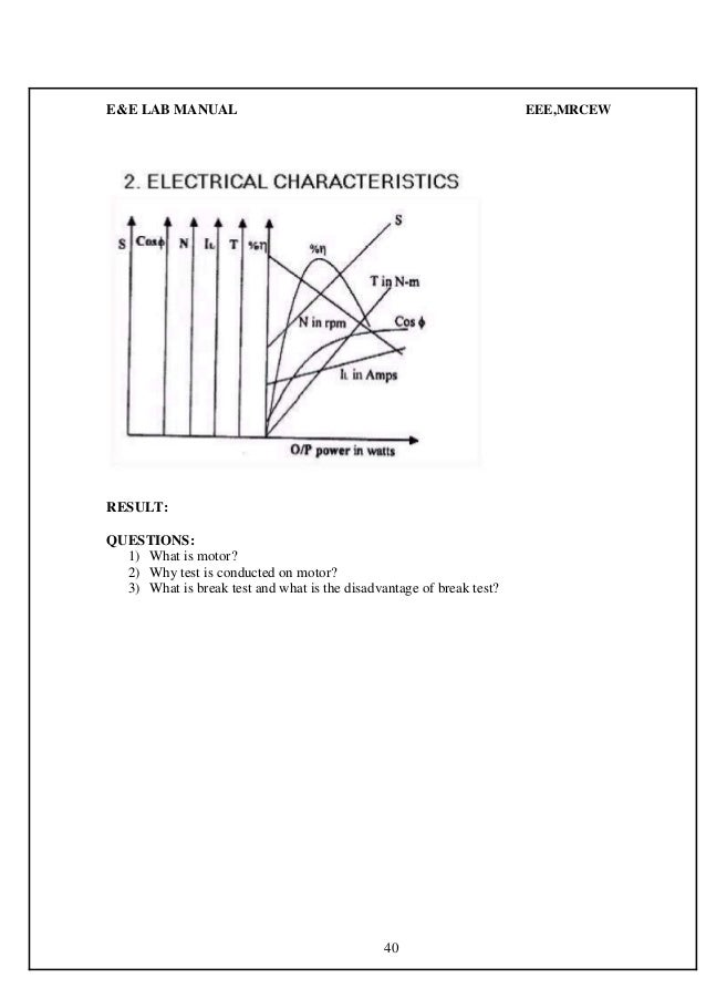 E&e lab manual