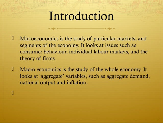 similarities between micro and macro economics pdf