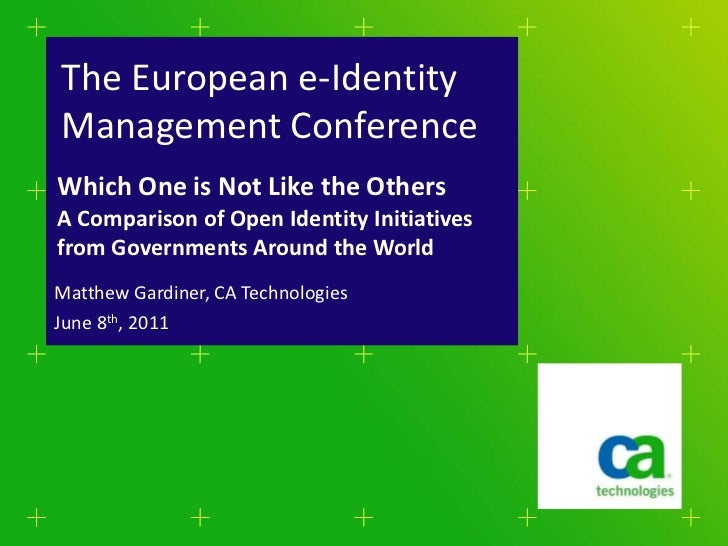 when title <br />IS NOT a question<br />there is NO 'WE CAN'in the box<br />The European e-Identity Management Conference<...