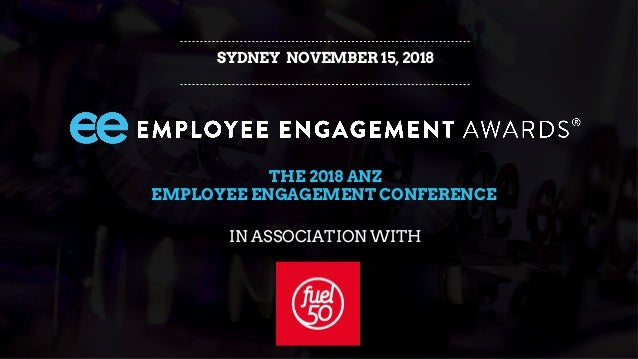 22d5059a0 SYDNEY NOVEMBER 15, 2018 THE 2018 ANZ EMPLOYEE ENGAGEMENT CONFERENCE IN  ASSOCIATION WITH ...