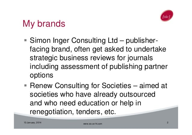 What Scholarly Societies Want from their Publishers Slide 2