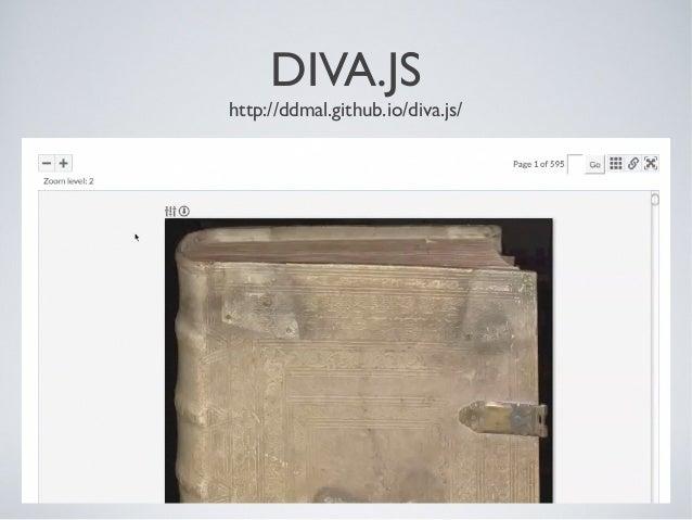 DIVA.JS http://ddmal.github.io/diva.js/