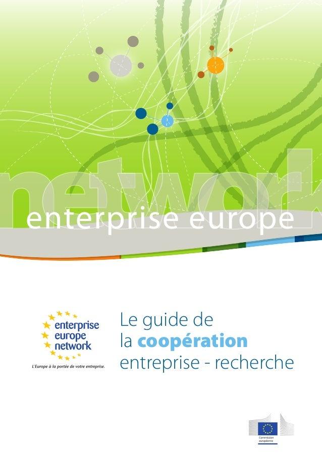 network enterprise europe  enterprise europe  Le guide de  la coopération  entreprise - recherche  un service  CCI CENTRE