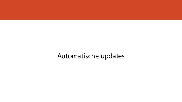 Automatische updates