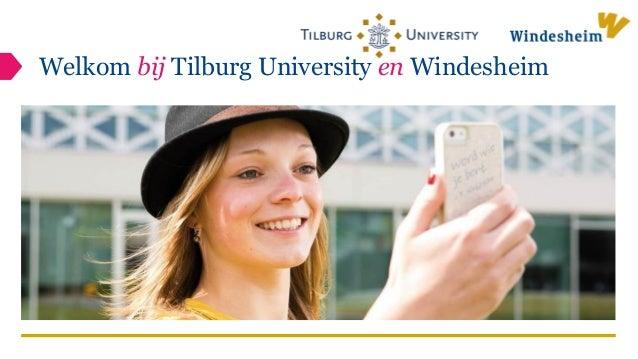 Welkom bij Tilburg University en Windesheim