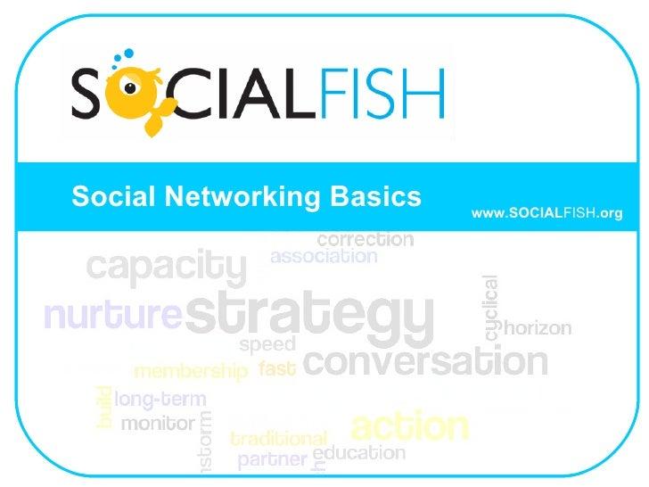 Social Networking Basics www.SOCIAL FISH .org