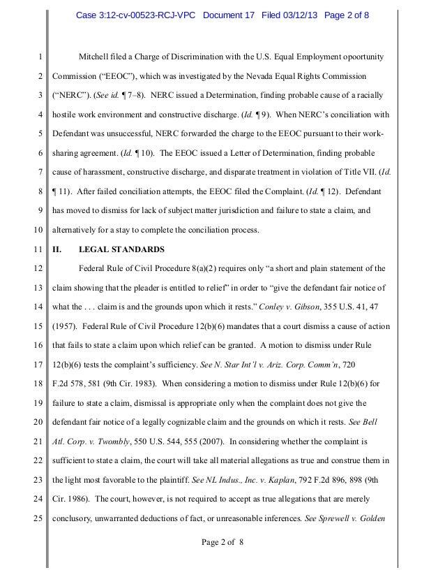 EEOC v. Wedco, Inc. - Racial Harassment Lawsuit.