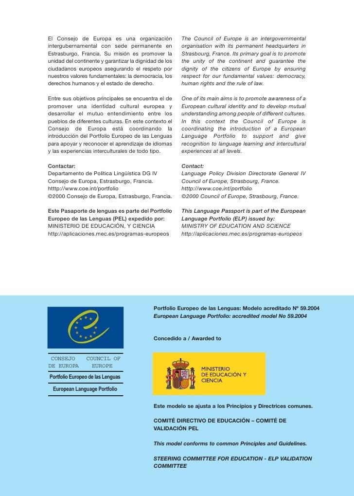 El Consejo de Europa es una organización                The Council of Europe is an intergovernmental intergubernamental c...