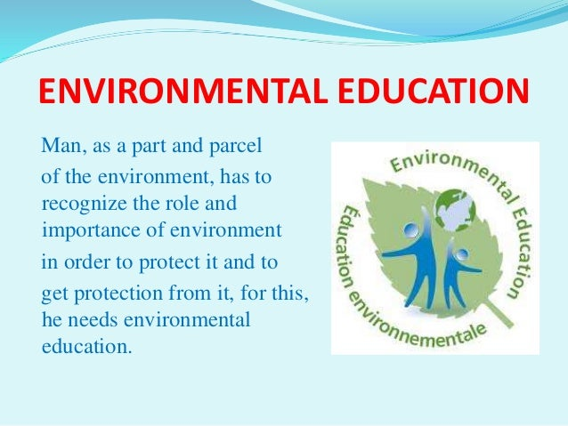 Environmental education essay