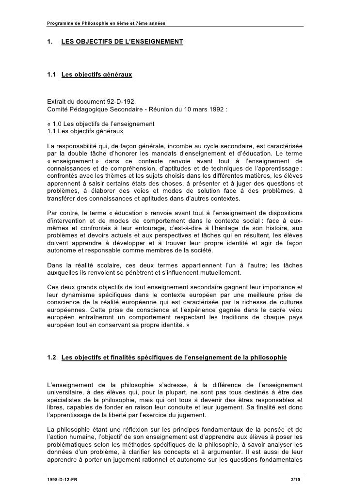 Conclusion dissertation philosophique exemple