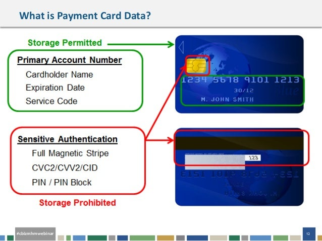 Webinar Slides Payment Card Industry Data Security