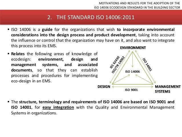 Iso 14006 eco design home