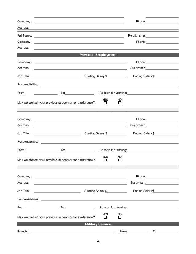 Ee Schools Employment Application