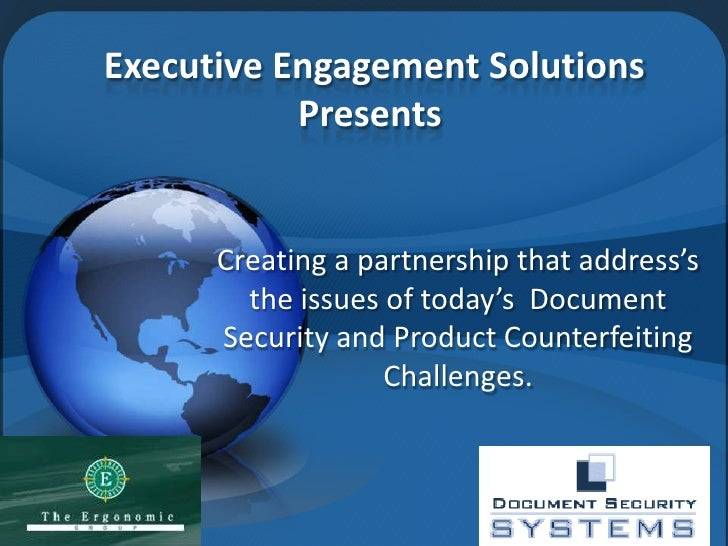 Executive Engagement Solutions            Presents         Creating a partnership that address's         the issues of tod...