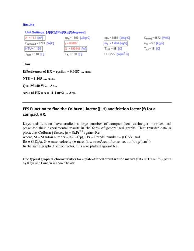 Ees procedures and functions for heat exchanger calculations 53 fandeluxe Image collections