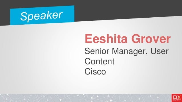 Building a UEx Strategy for In-Product Self-Help - Eeshita Grover Slide 3