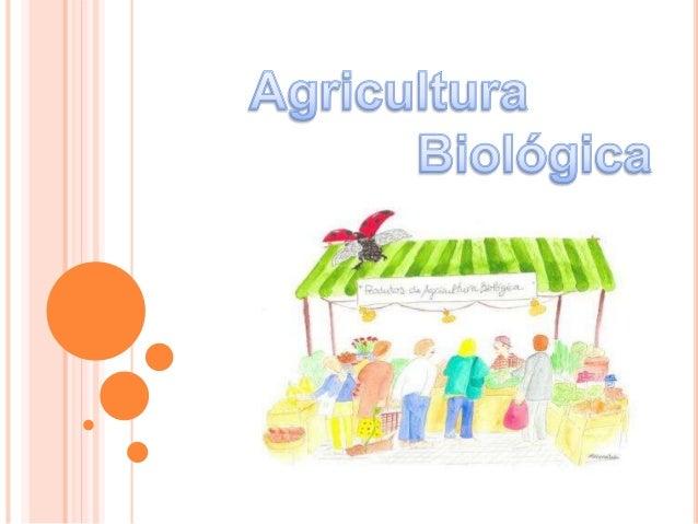  Agricultura Biológica é o termo frequentemente usado para a produção de alimentos e produtos animais e vegetais que não ...