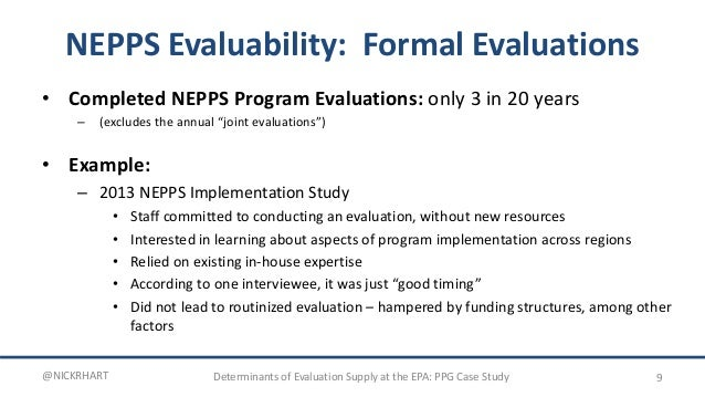 performance partnership case presentation: evaluation @epa, Powerpoint templates