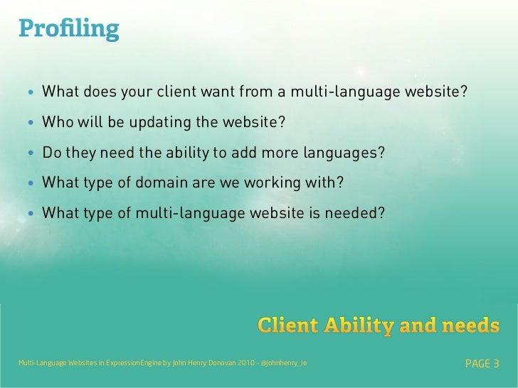 Multi-Language Websites in ExpressionEngine Slide 3