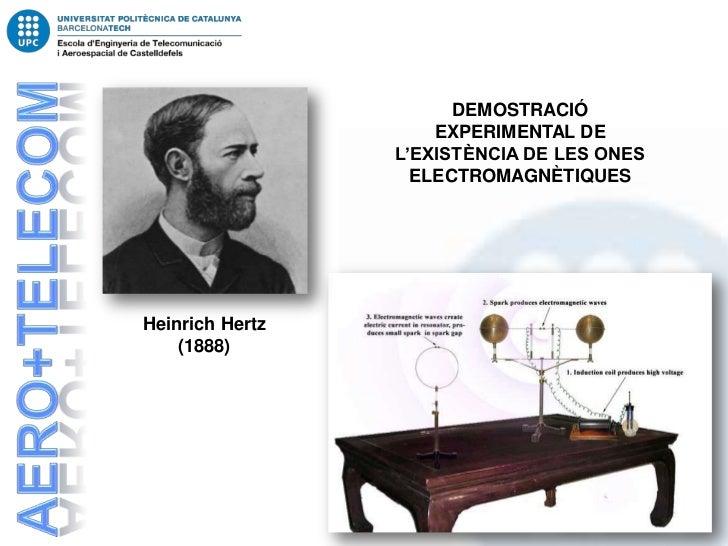 DEMOSTRACIÓ                     EXPERIMENTAL DE                 L'EXISTÈNCIA DE LES ONES                   ELECTROMAGNÈTIQ...