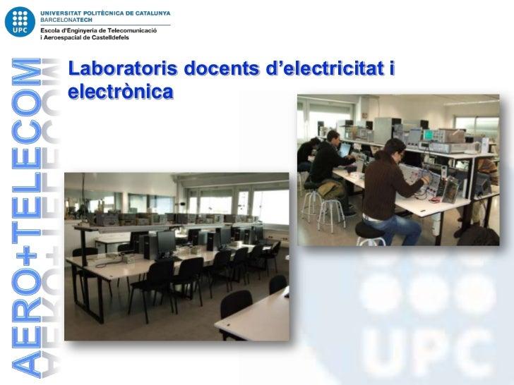 Laboratoris docents d'electricitat ielectrònica