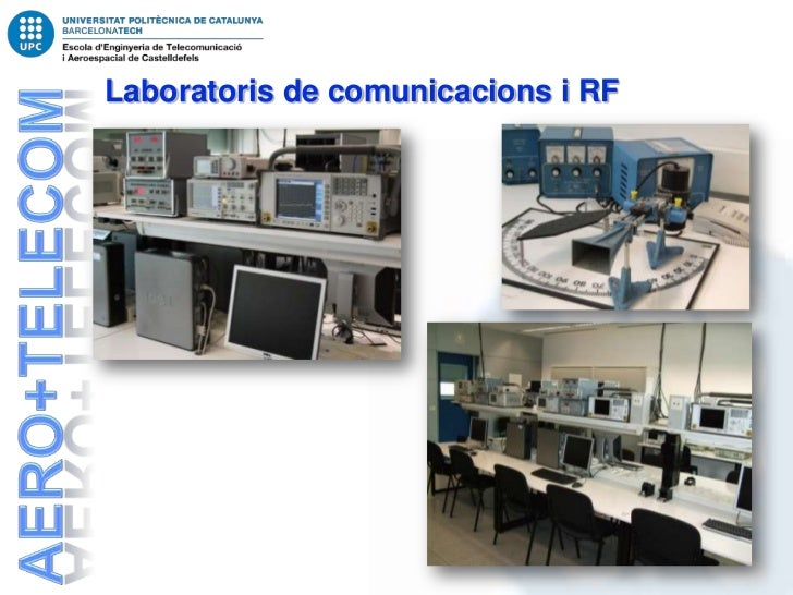 Laboratoris de comunicacions i RF