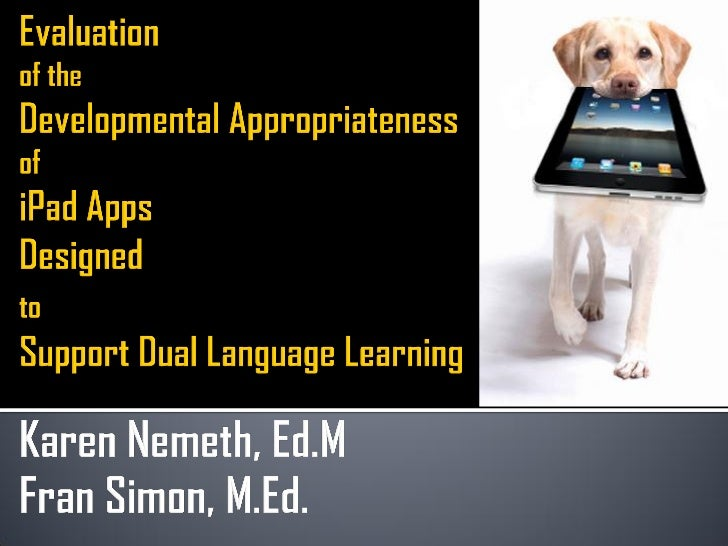 Ipad/iPhone Slideshow                          PDF Handout                                       http://ow.ly/9CfPj       ...