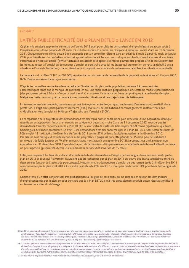 33 ANNEXES / ÉTUDES ET RECHERCHES TABLEAU 8 RÉPARTITION DES DEFM SELON LEUR ANCIENNETÉ AU CHÔMAGE À FIN DÉCEMBRE (2007-20...