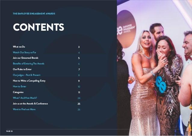 The 2019 UK & European Employee Engagement Awards Entry Pack Slide 2