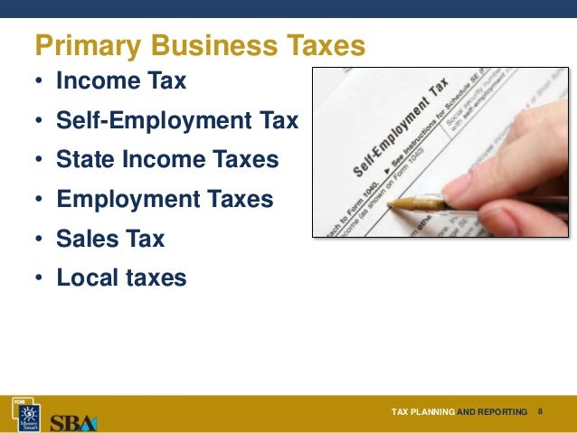 7 Tax Planning Tips for Small business ...