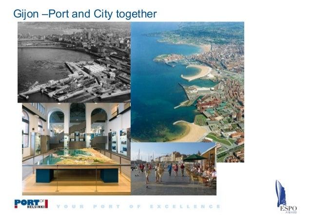 Gijon –Port and City together