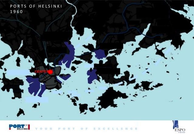 PORTS OF HELSINKI 1960  CENTER