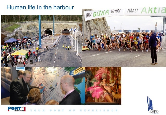 Human life in the harbour