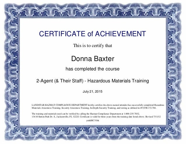 Hazmat Materials Training Certificate_of_Completion-Landstar