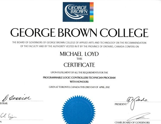 Plc George Brown