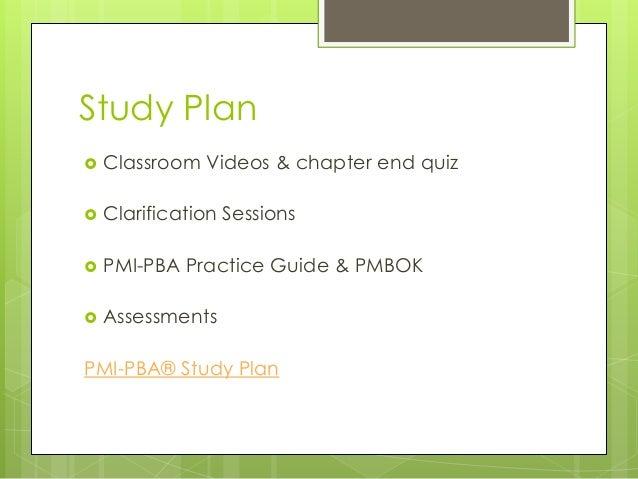 pmi pba study guide pdf