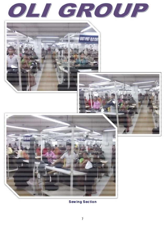 7 Sewing Section